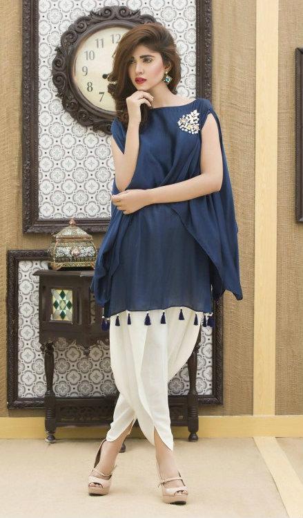 Latest Pakistani Dresses Designs 2018 For Girls - Formal U0026 Informal Outfits
