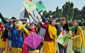 Dresses for Basant Day