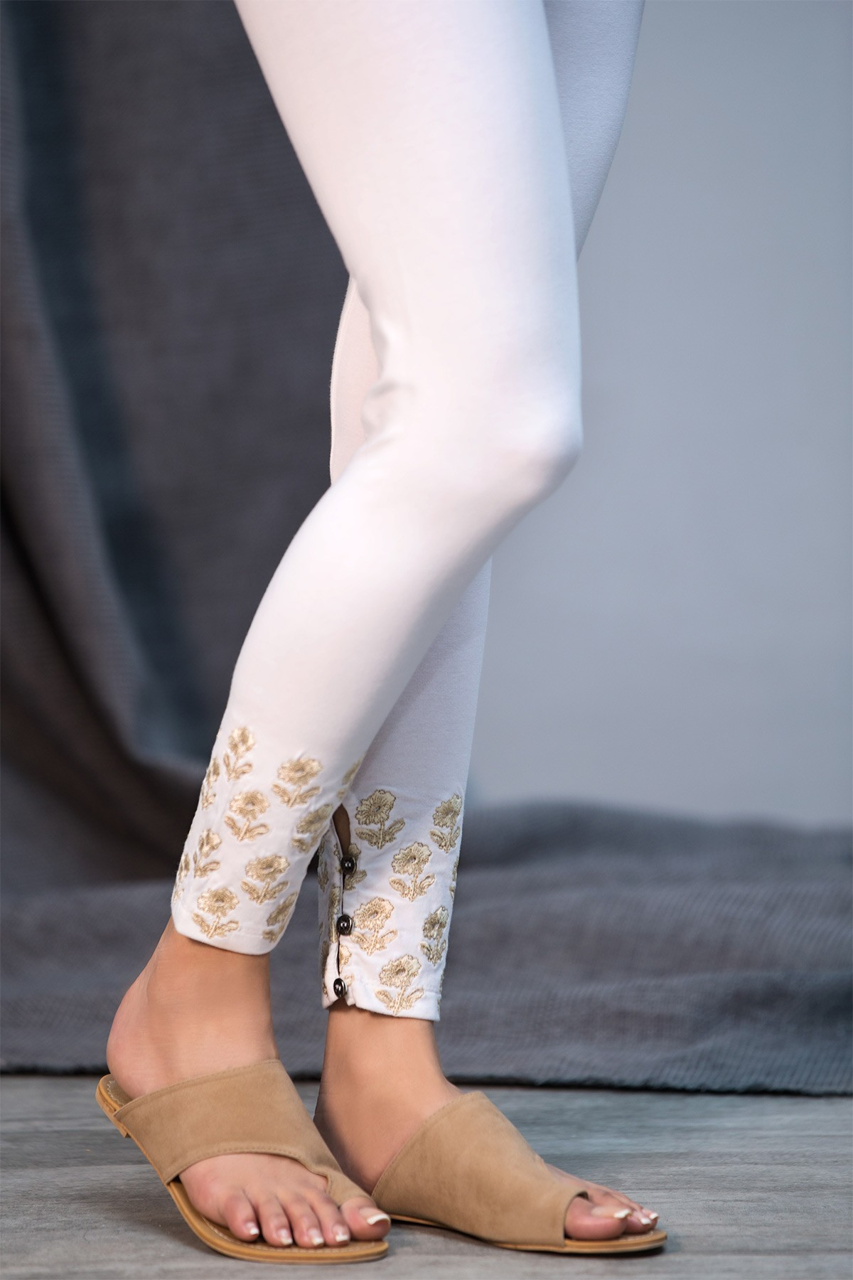 Embroidered Tights