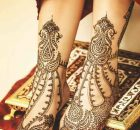 Foot Mehndi Designs