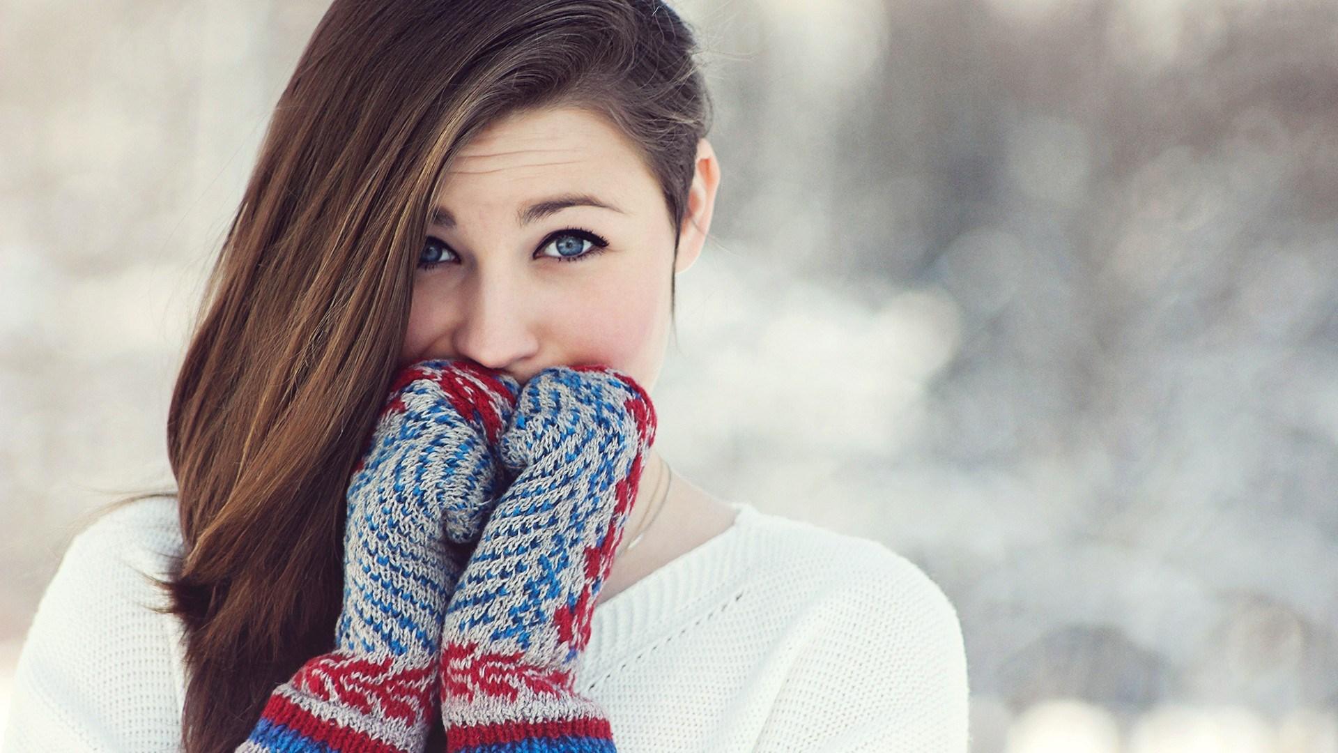 Girl Winter Gloves