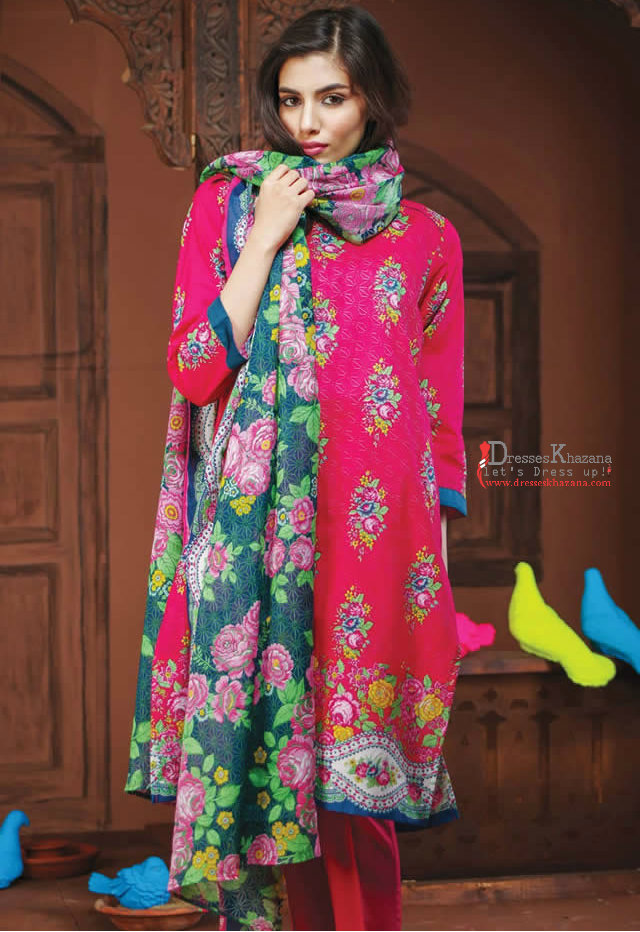 70580c96f5 Latest Party Dresses 2017 Collection by Khaadi for Girls