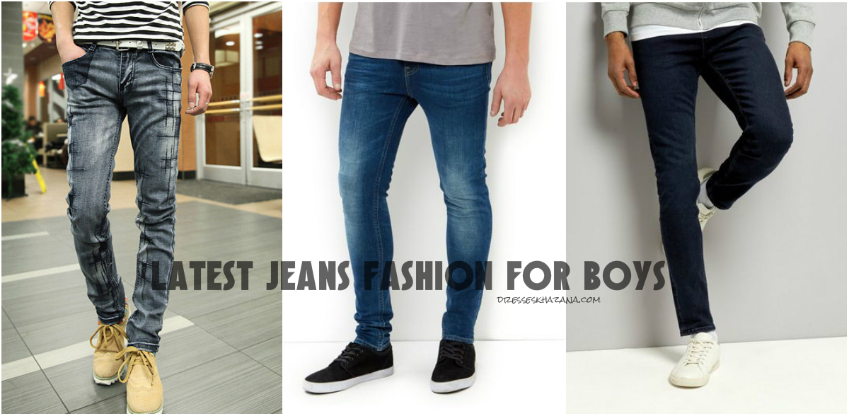 Modern Fashionable Jeans for Boys 2017 - Designer's Jeans Style