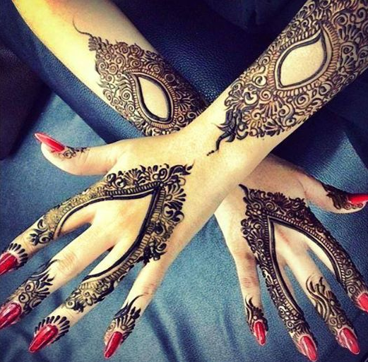 Mehndi New 2017 : Latest mehndi designs special henna design