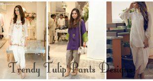 Latest Tulip Pants designs 2017