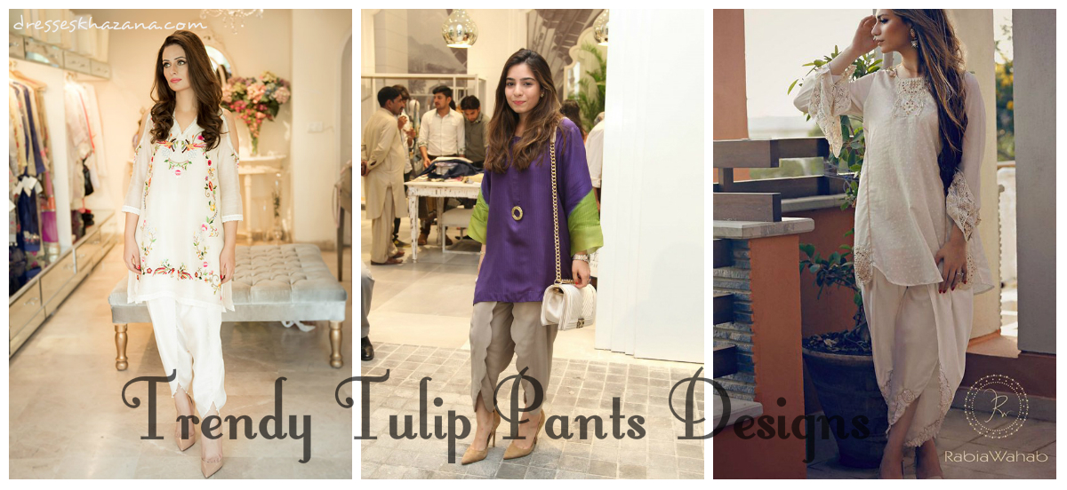 Latest Trend Of Tulip Pants 2017 Dress In Pakistan For Girls