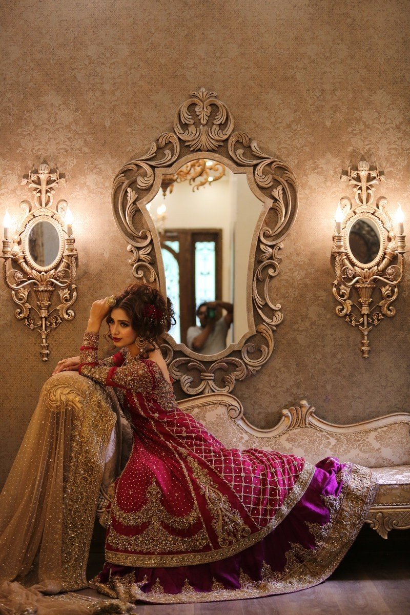 Maria B Latest Bridal Dresses 2017 Collection Designs For The Bride