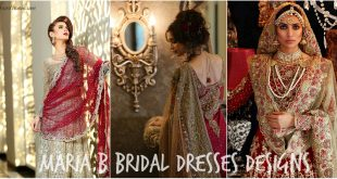 Maria B Latest Bridal Dresses Collection 2017