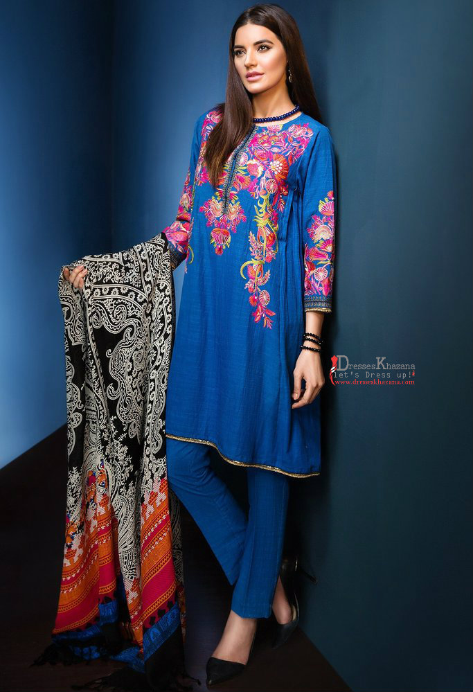 52d88cdf5 Latest Party Dresses 2017 Collection by Khaadi for Girls
