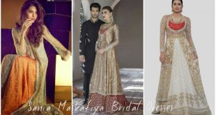 Sania Maskatiya Bridal Dresses Collection 2017