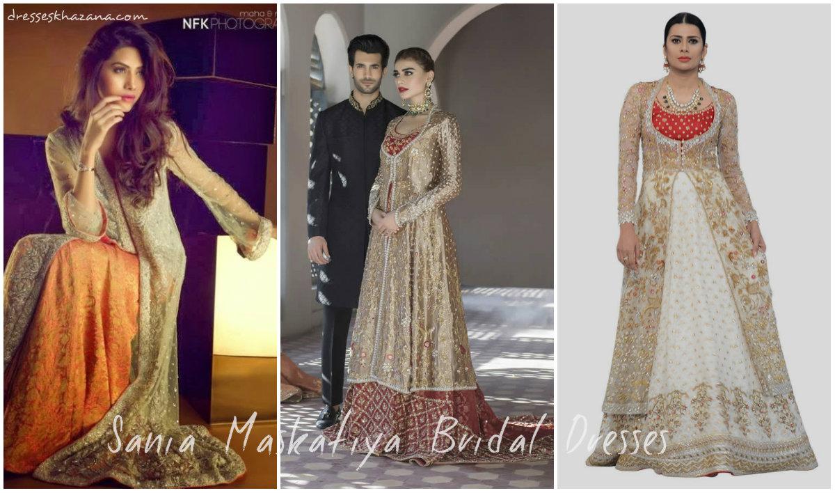 Sania MaskatiyaBridal Dresses Collection 2017