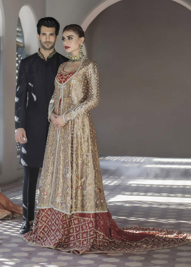 Sania Maskatiya Bridal Dress 2017