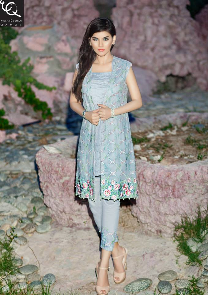 Latest Pakistani Dresses Designs 2018 for Girls