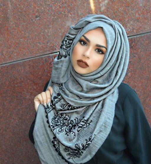 Modern Hijab Styles Fashion 2018 For Winter Outfits
