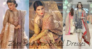 Zara Shahjahan Bridal Dresses Collection 2017