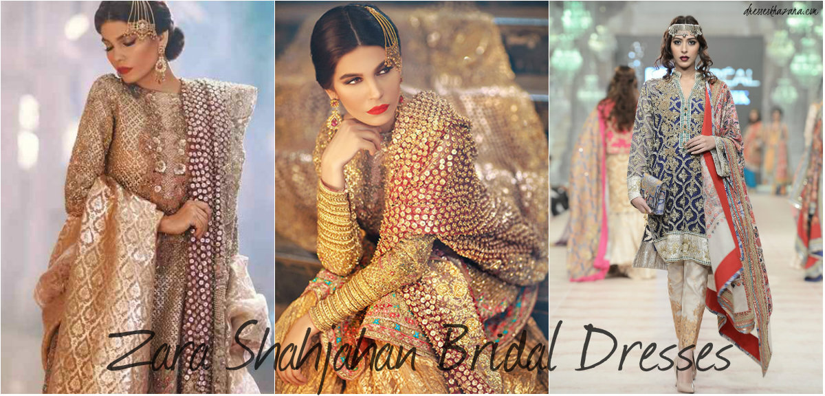 a7f47c20 Zara Shahjahan Best Bridal Dresses Collection 2017 for Bride