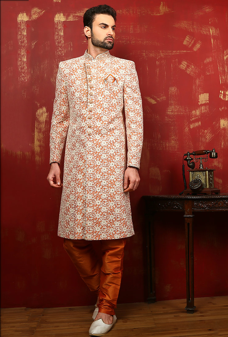 Brand New Sherwani Designs For Men 2017 Fashion Style