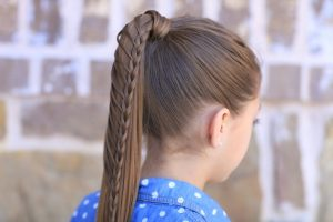 Cute Hairstyles For Ponytails Lace Braided Ponytail And Updo Cute Hairstyles Cute Girls