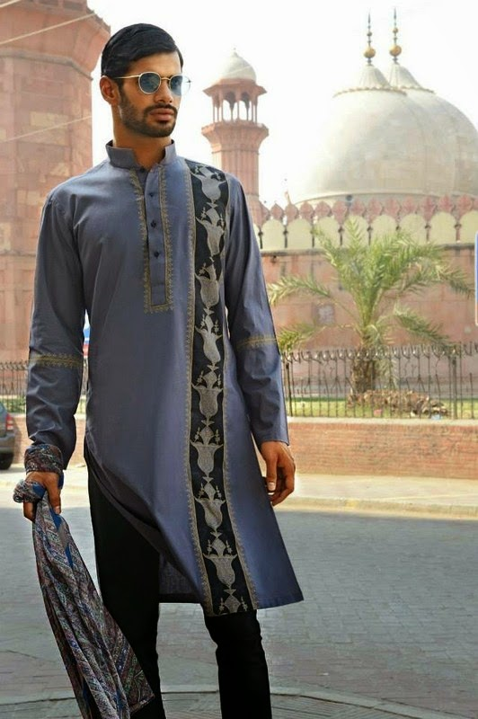 4a93ab839c New Modern Designs of Kurtas for Men 2017 Fashion Style