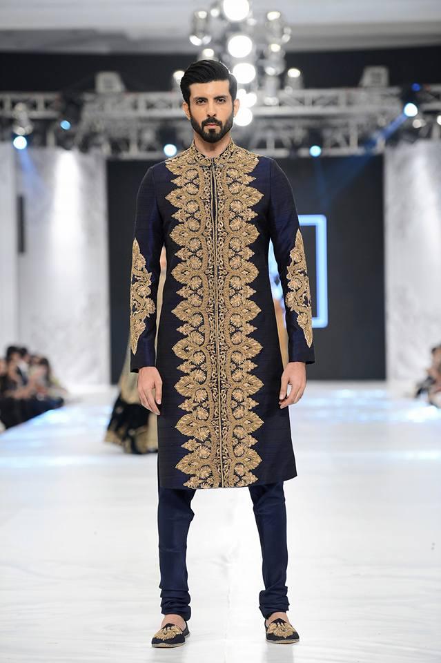 HSY Latest Sherwani Dress 2017