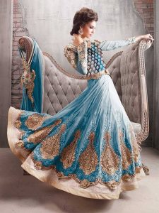 Indian Party Anarkali Outfit