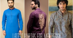 Latest Designs of Kurtas for Men 2017