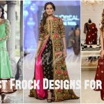 Latest Frock Designs 2017 Umbrella Dresses for Girls and Women