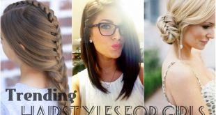 Latest Trending Hairstyles for Girls 2017 in Pakistan