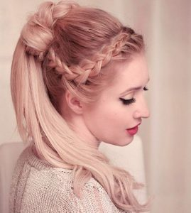 Medium Hairstyle for girl