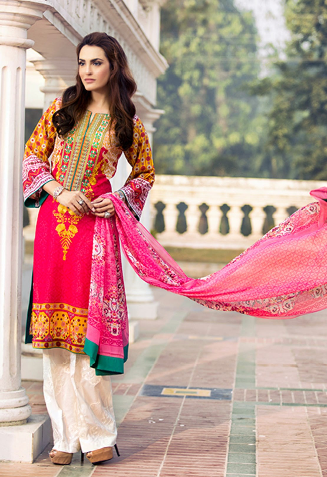 Nadia Hussain Summer Collection 2017