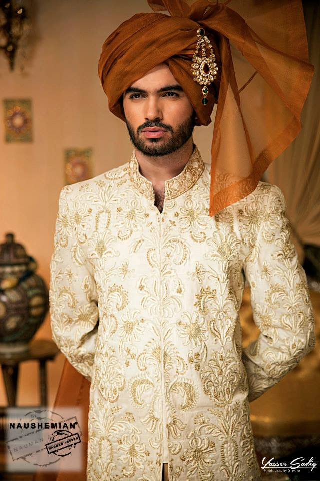 Naushemian-By-Nauman-Arfeen-Men-Wedding-Sherwani-Collection