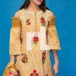 Nishat Unstitched Embroidered Spring Collection 4