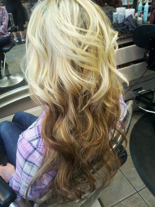 Ombre and reverse ombre