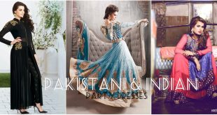 Pakistani & Indian Party Dresses 2017