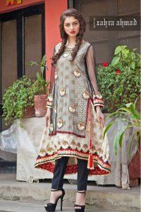 Pakistani Party Dresses by Zahra