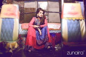 Pakistani Party Outfit by Zunaira