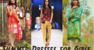 Pakistani Summer Dresses for Girls 2017