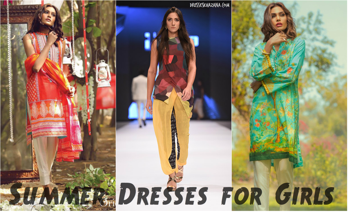 Lawn Embroidered dresses for pakistani girls recommend to wear in spring in 2019