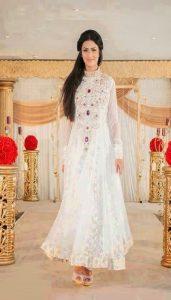 Pakistani White Party Dresses