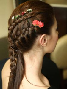 Party Hairstyle look
