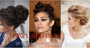 Prom Hairstyles & Stylish Party Hairstyles for Girls 2017