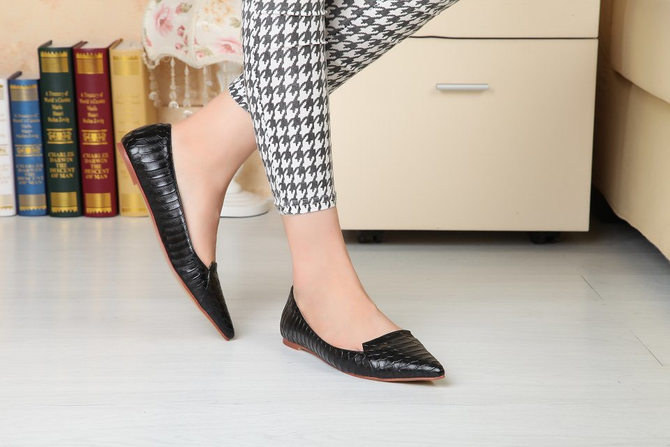Simple Flat Pumps