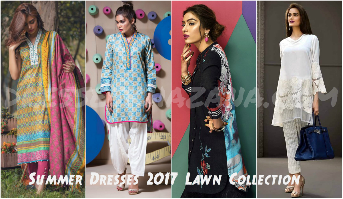 Spring Summer Dresses 2017 Lawn Collection