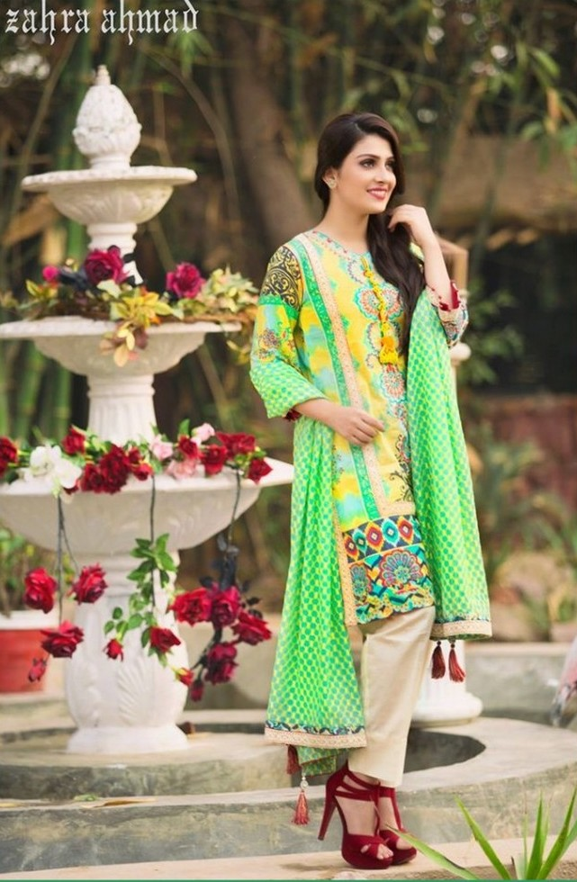 Latest Summer Wear Salwar Kameez Designs 2017 For Ladies