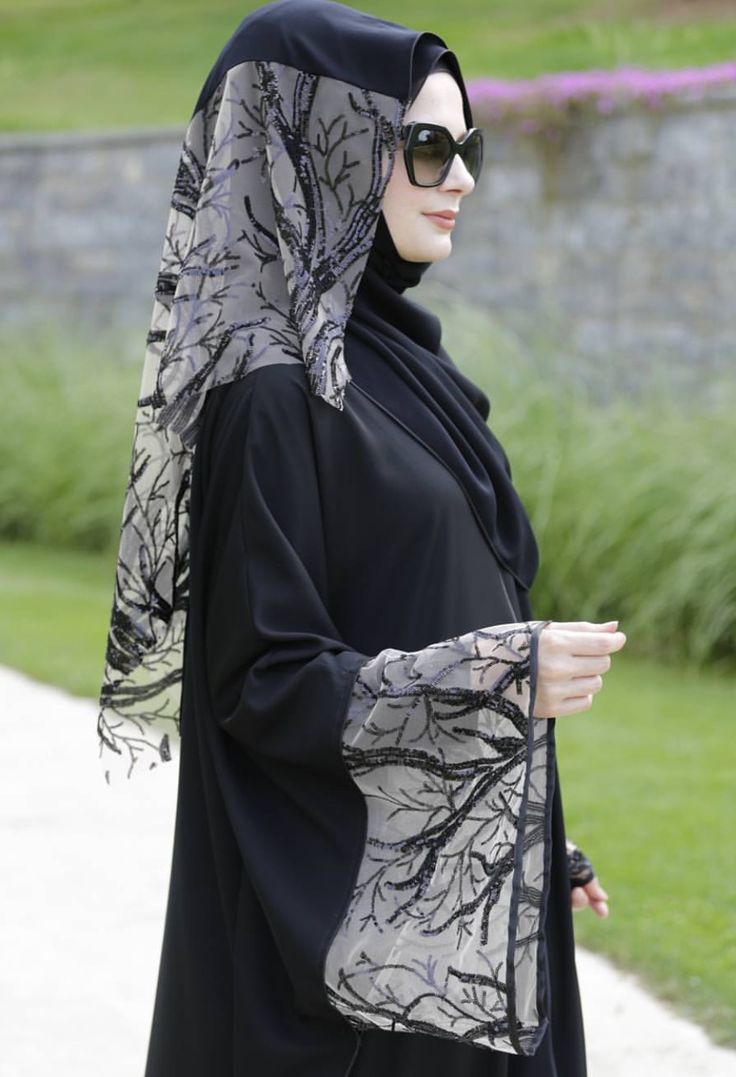 Abaya Designs With Hijab