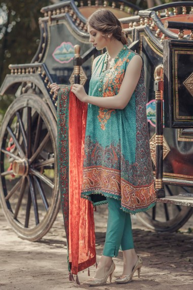 Alkaram Lawn Suit for girls