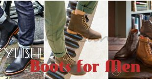 Boots for Men 2017 Stylish Men Dress Boots Fashion for Boys Footware