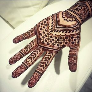 Full Handed Mehndi Designs