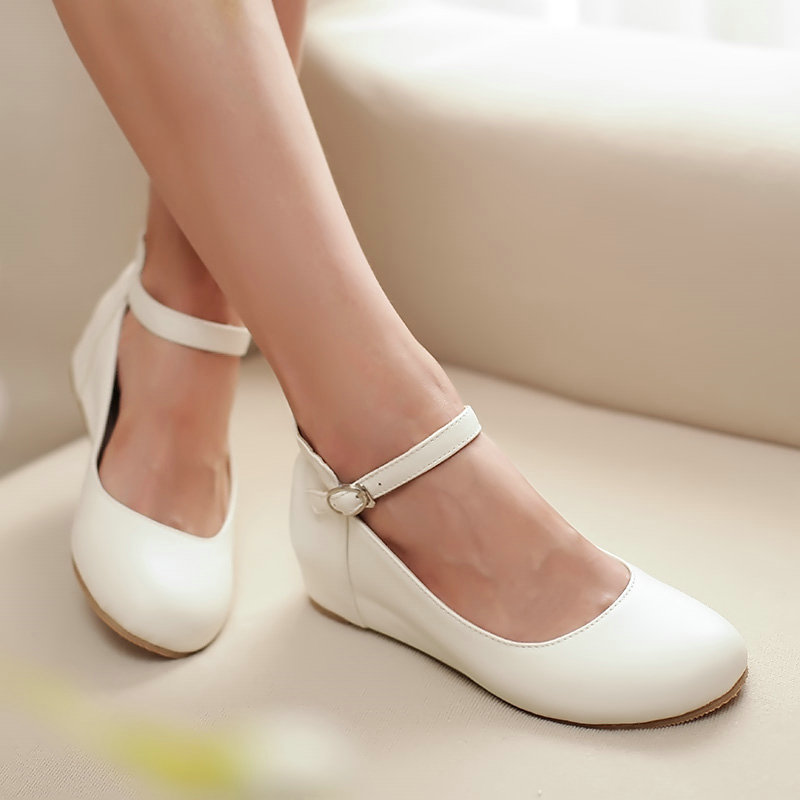 Girls Ankle Strap Shoes