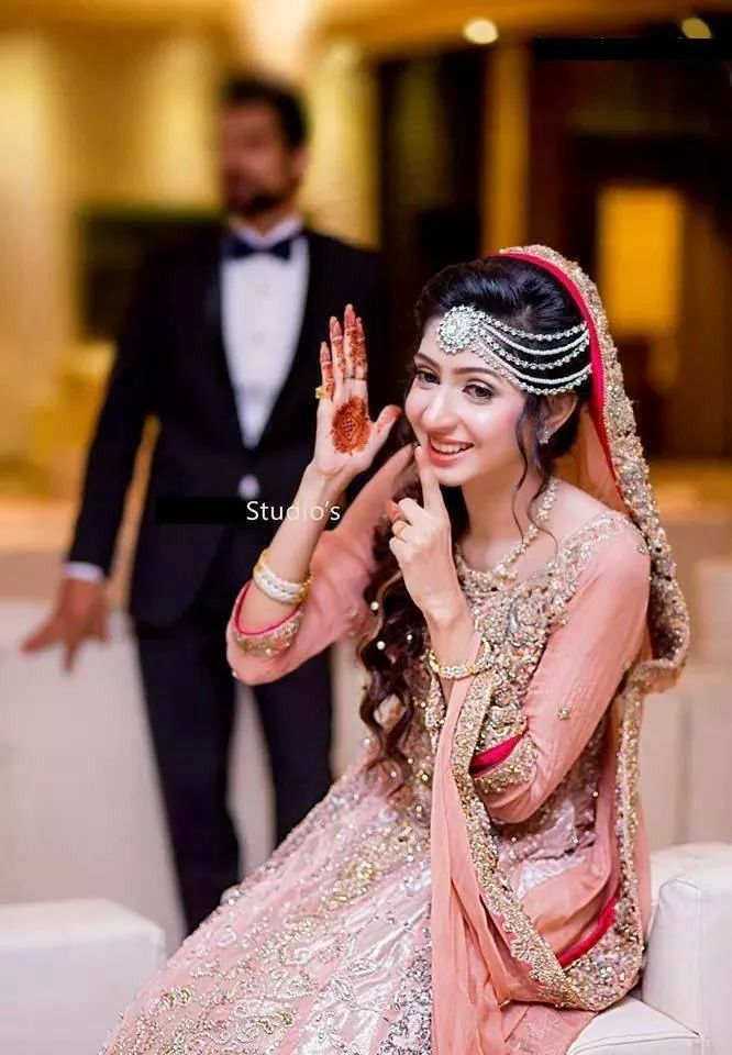 Mehndi Bridal With Matha Patti :